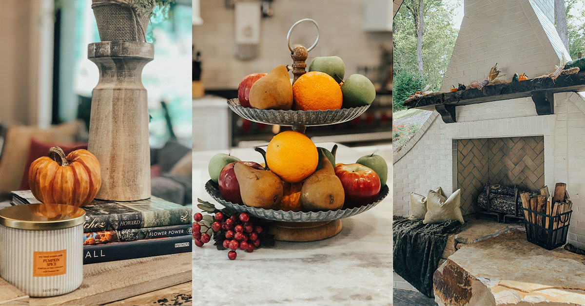 Fall in love with these harvest home tips!