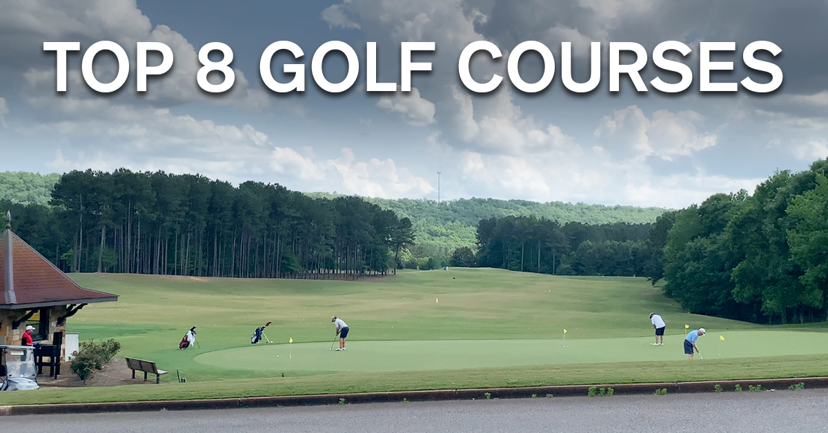 Top 8 Golf Courses in Alabama.