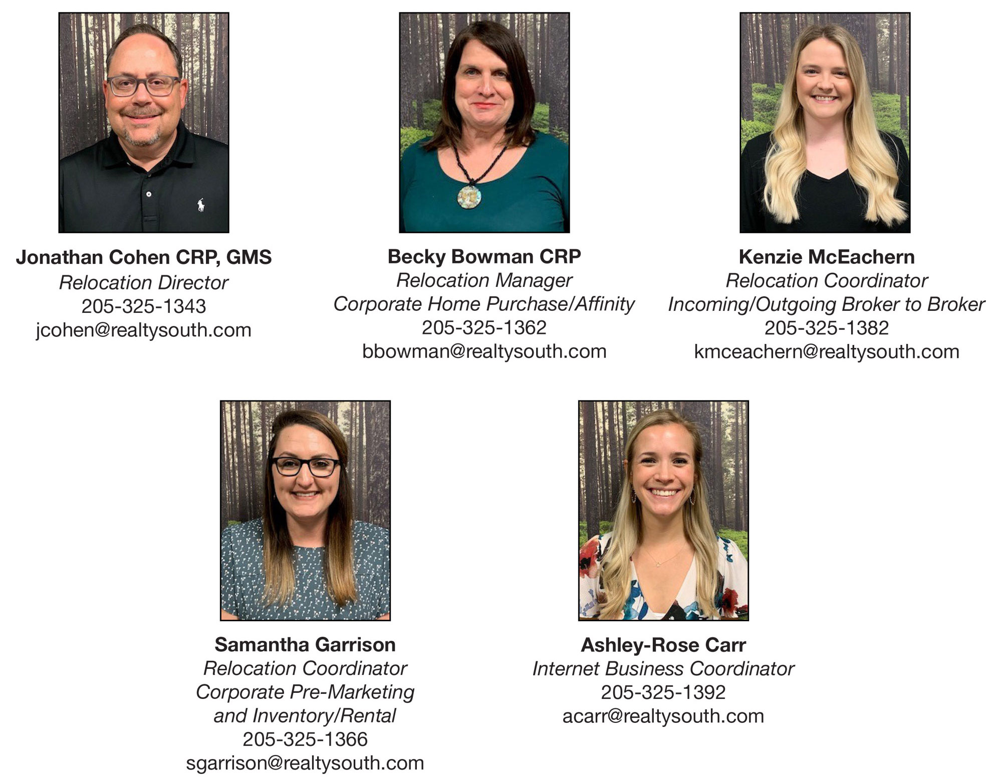 Meet our Relocation Team!